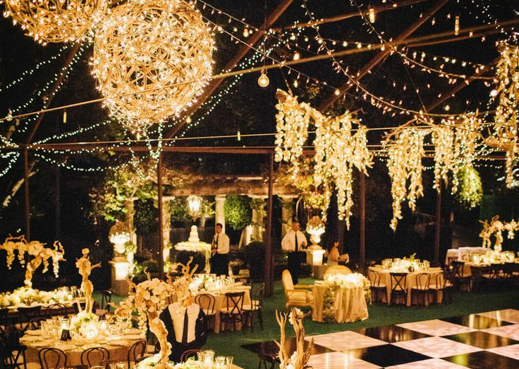 Black Tie Decor Themes for Your Marquee  Marquee Vision