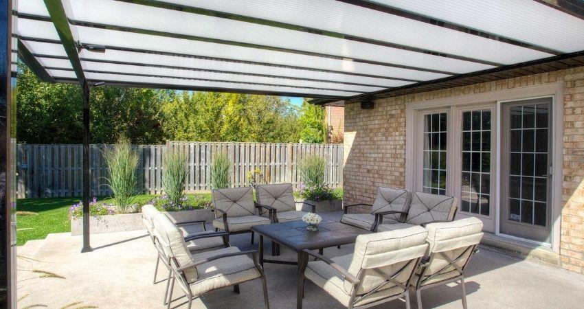 marquesinas de aluminio para terrazas