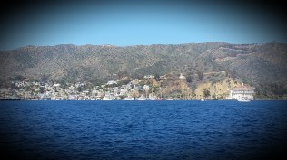 Catalina from the tender