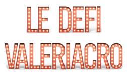 Un beau logo tout en néons pour le défi ValériAcr0