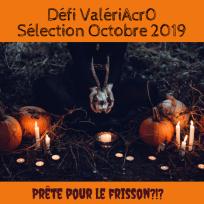 Le panneau de la sélection d'octobre du Défi ValériAcr0