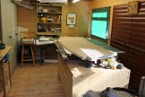Marquetry workshop 15ft by 10ft