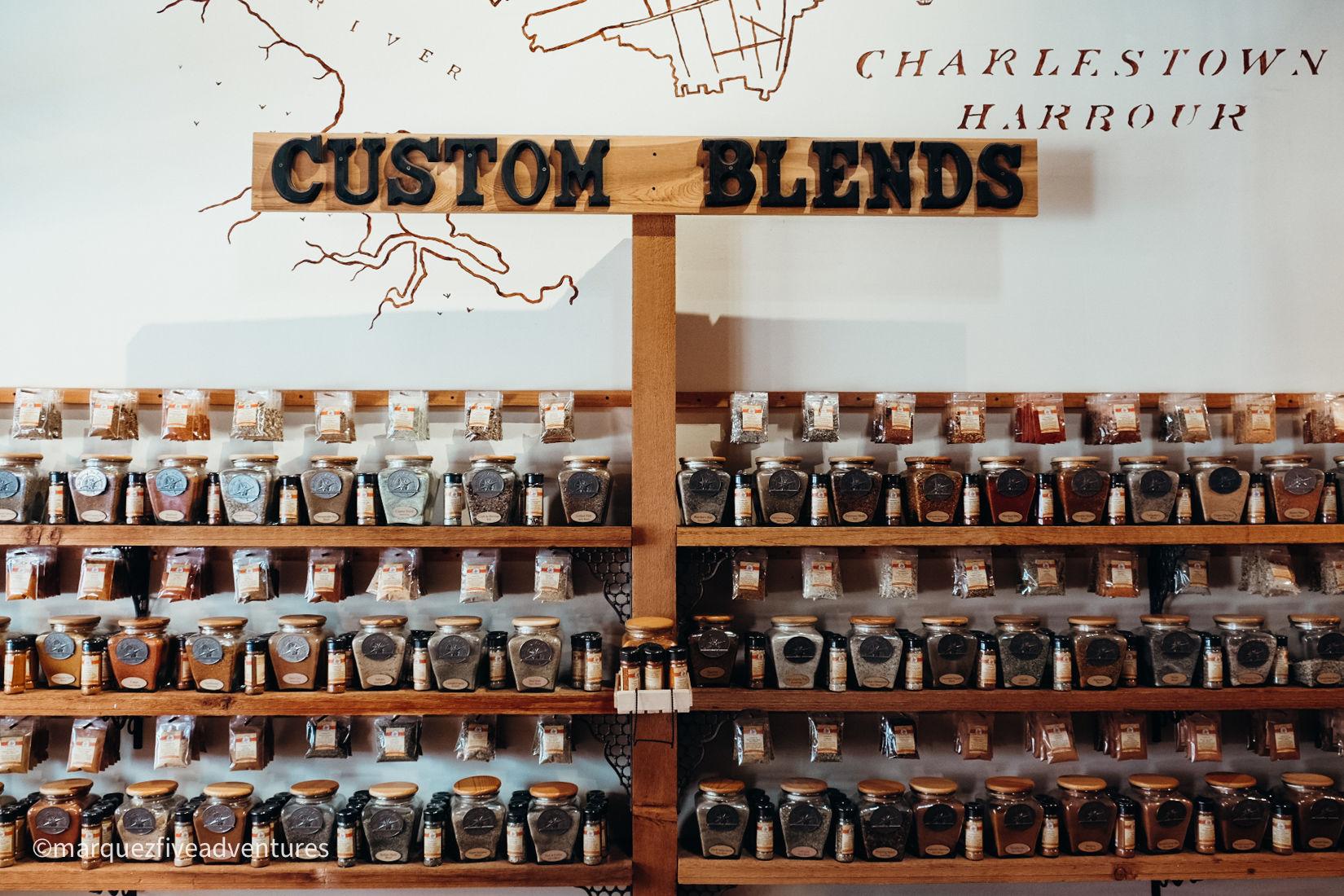 Spice & Tea Exchange. Charleston, South Carolina