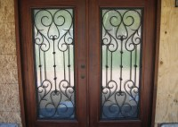 Decorative Wrought Iron Entry Doors - Orange County, CA ...