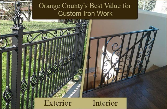 Wrought Iron Fencing Gates Security Doors Balcony Stair | Adding Wood To Wrought Iron Railing | Cedar | Entryway | Rod Iron | Repair | Process Fabrication