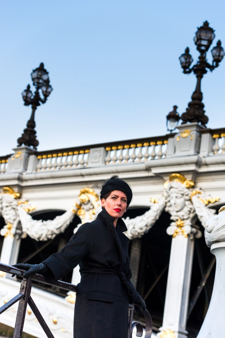 Fashion Shooting - Marquis Blog Paris. Pont Alexandre III