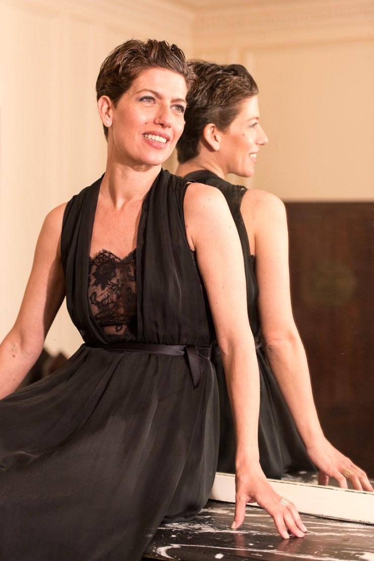 Robe Chanel noire dentelle