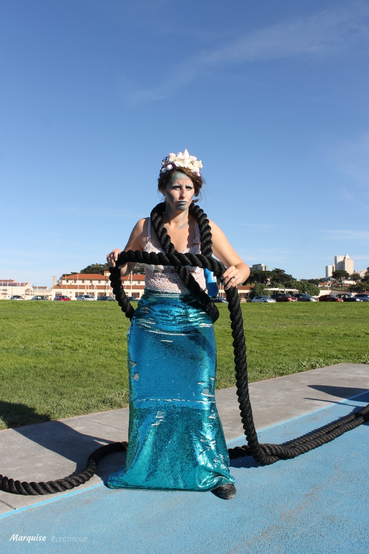 couture costume sirène mermaid