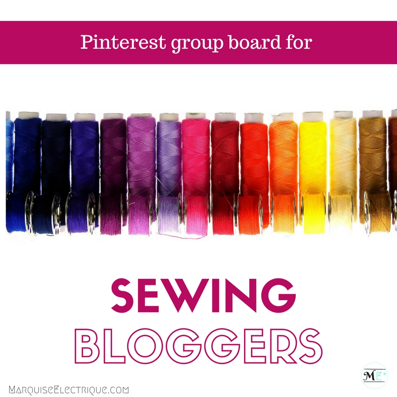 Join the Sewing Bloggers Pinterest group board!