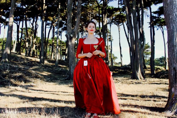 robe reine de coeur déguisement halloween