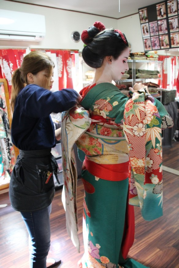 Japan Sewing Geisha Kyoto