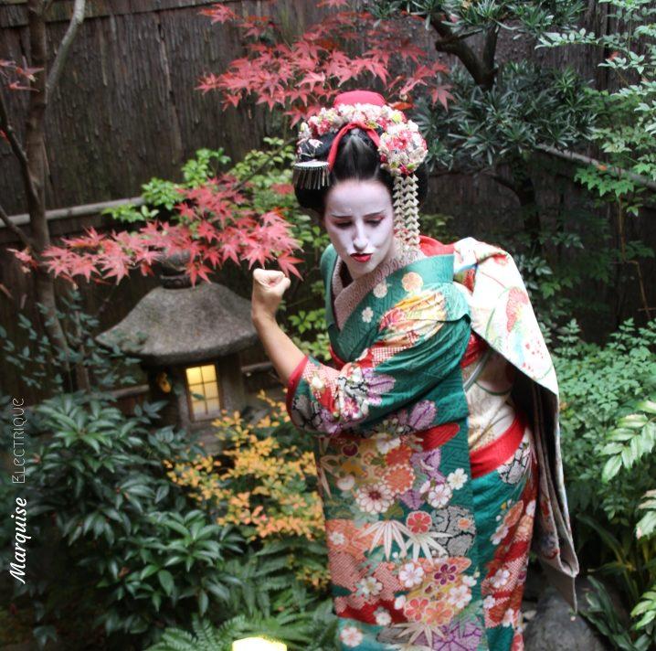 Japan Sewing Geisha Kyoto