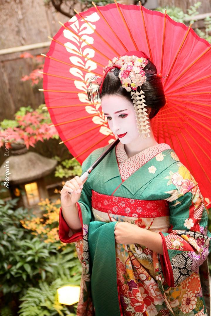 sewing geisha kyoto maiko
