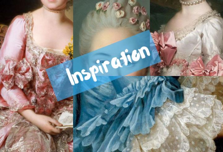 robe versaille inspiration