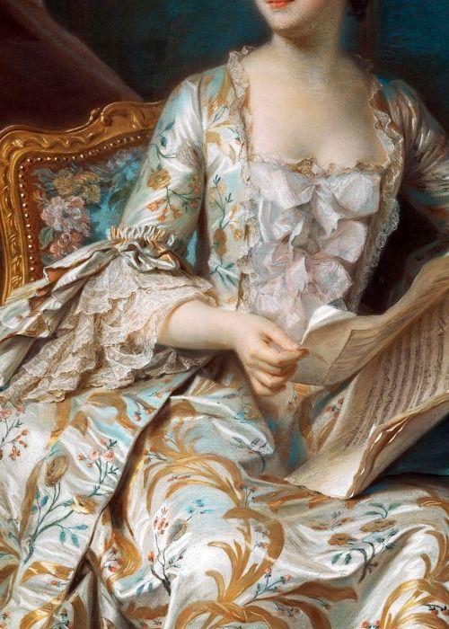 robe couture 18ème