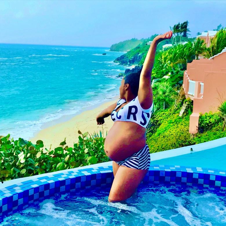 Bermuda Babymoon_Pool