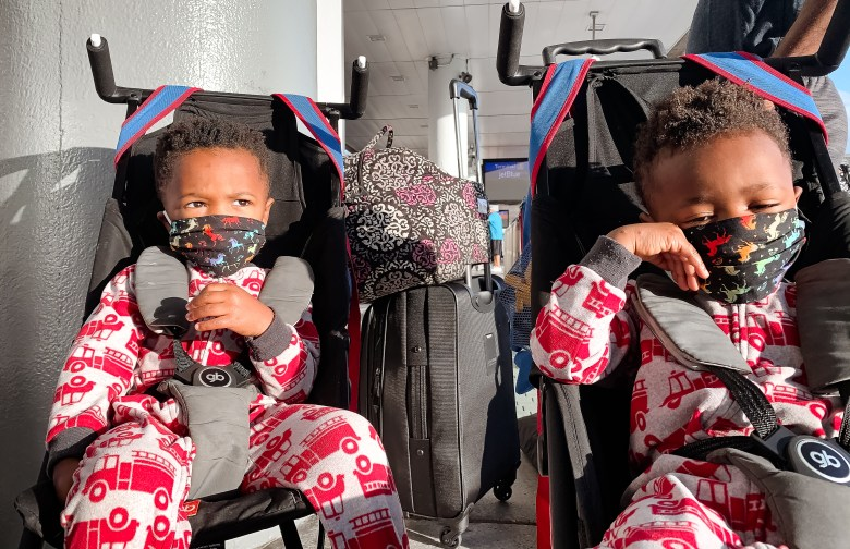 Flying with Toddlers during COVID-Mask
