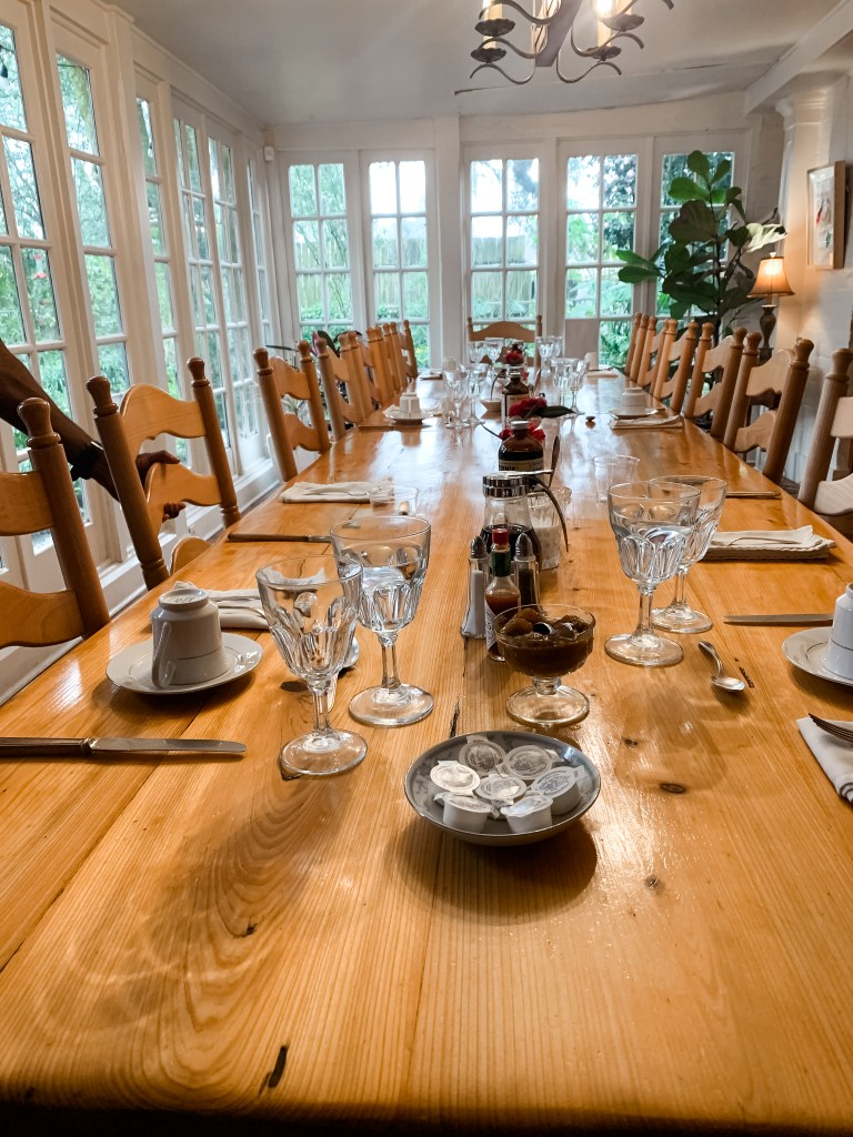 Bed and Breakfast Family Table