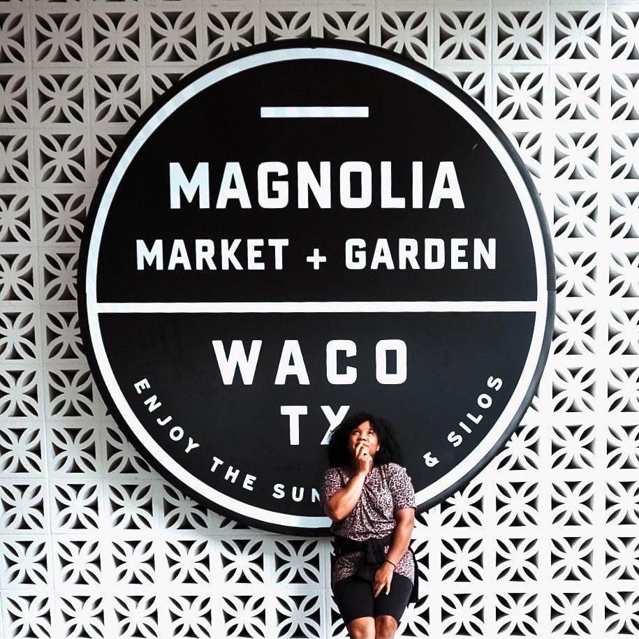Magnolia Market Waco Sign