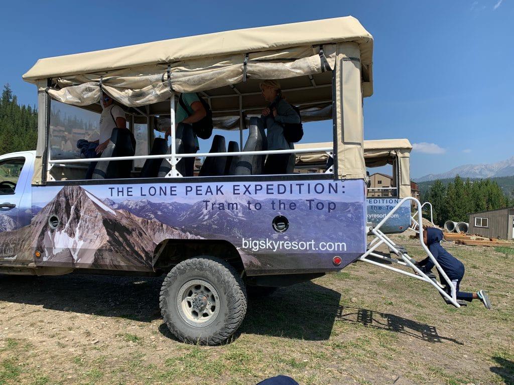 Lone Peak Expedition Truck
