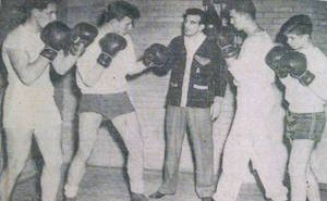 Freddy Marratto's mentor Steve Acunto training boxers