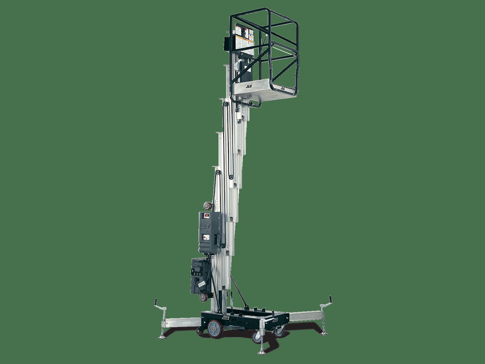 Jlg 30amdc And 41amdc Push Around Vertical Mast Lift