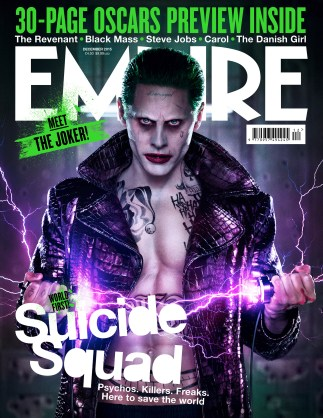 Empire publication of Suicide Squad