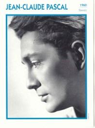 Portrait de star - Jean-Claude Pascal 1960 wp