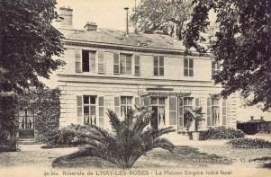 009-2 40 bis Roseraie de L'HAY-LES-ROSES - La Maison Empire_wp