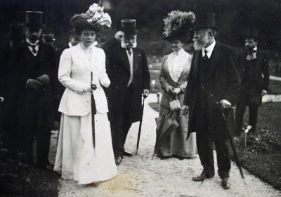 1910-06-24 Les souverains bulgares à Bagatelle - 132