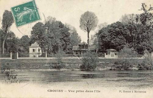 Croissy - Vue prise dans l'ile_wp