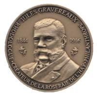 Jules Gravereaux - Medaille (bronze) detouree