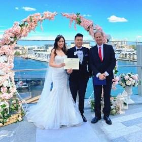 Crown towers wedding