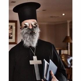 Orthodox priest wedding