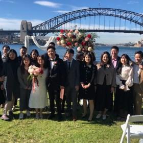 Harbour wedding