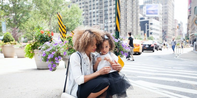 mother and daughter in nyc