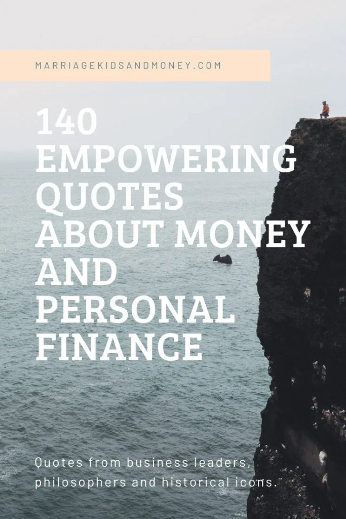 Quotes About Money and Personal Finance