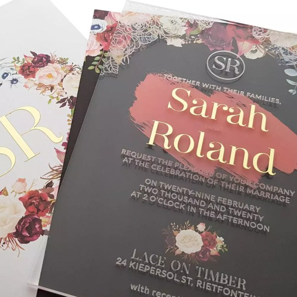 The Write Style – Ideas for your wedding stationery