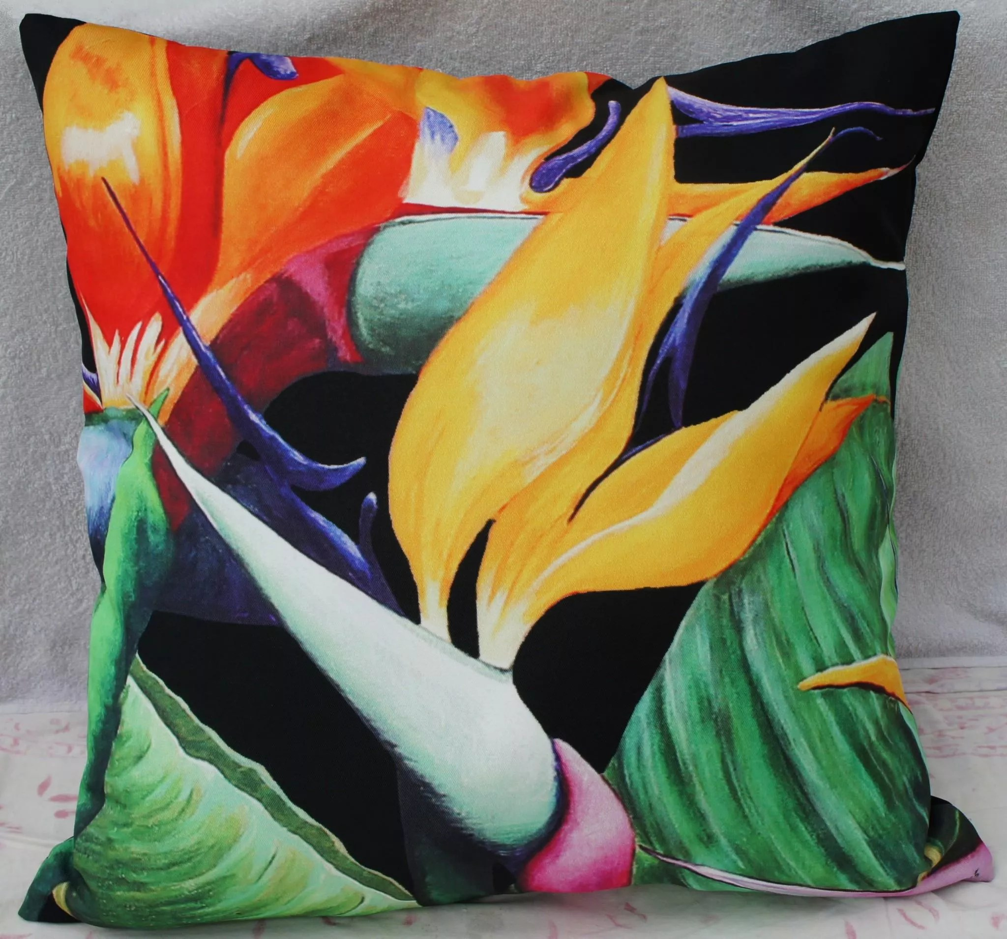 Majestic Black Scatter Cushion