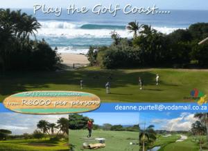 Golf Package advert - 18cm x 13cm - December 2016