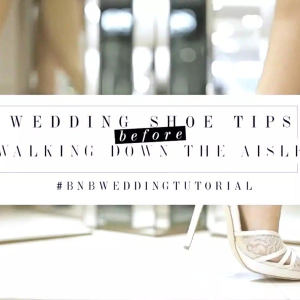 SELECTING YOUR BRIDAL SHOES