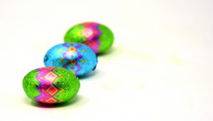 Easter eggs are a fun and yummy chocolate treat