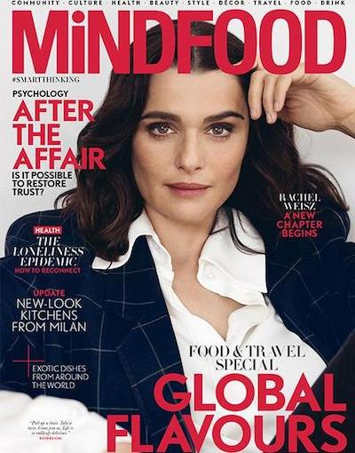 MIndfoodJuly-2018 cover After the affair article Emily Joyce with expert advice from Philipa Thornton