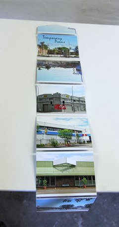 Anne Kay: Temporary Poems, photo/postcard construction 2013