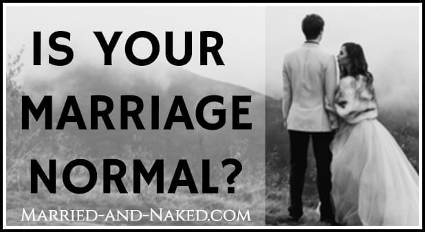 is your marriage normal