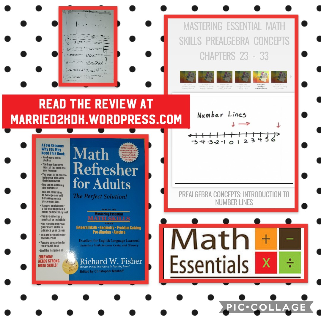 Review Math Refresher For Adults Marriage Motherhood Makeup Amp Homeschool
