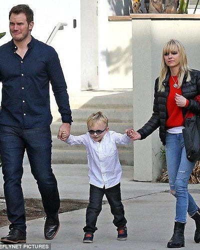 Excouple Anna Faris and Chris Pratt share a great bond for their son even after filing for the