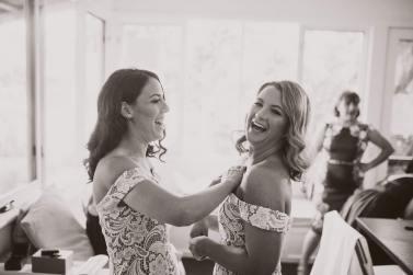 Funny bride.