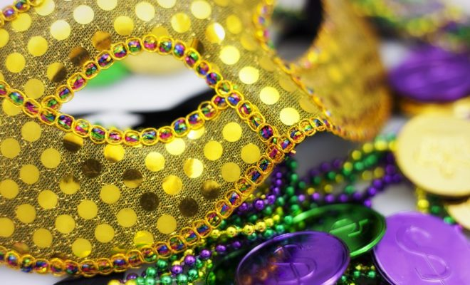 Mardi Gras Beads Flashing Game