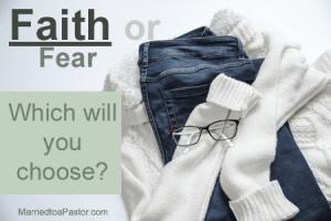 Faith and Fear, pastor's wife